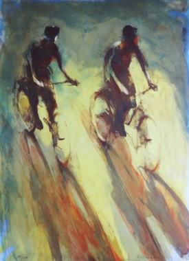 gul-cykelutflykt